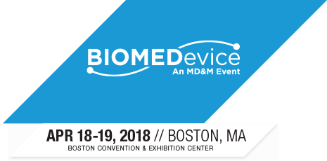 BIOMEDevice Boston 2018