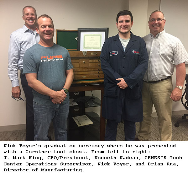 Opportunities Abound with Tegra Medical's Toolmaker Apprentice Program