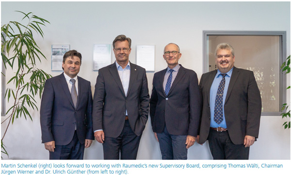 Raumedic AG has a new Supervisory Board