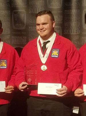 Gold Medal Win Propels Tegra Medical Co-op to National SkillsUSA Competition