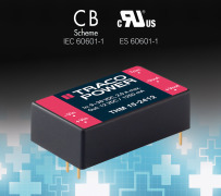 Medical Approved 15 Watt  DC-DC Converter in 1.0 x 1.6 package
