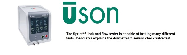 Sprint<sup>mD</sup> Leak Tester – The Check Valve Test