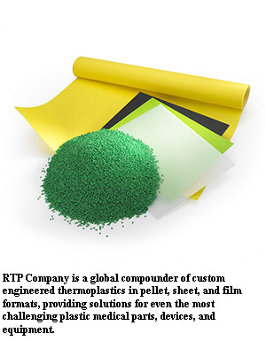 RTP Company Offers Thermoplastic Solutions for Medical Devices and Equipment
