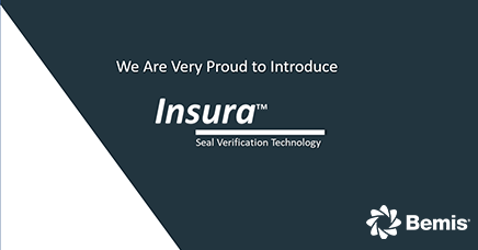 Bemis Healthcare Packaging launches Insura™ Seal Verification Technology
