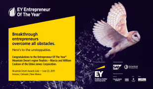EY Names Marcia andWilliam Coulson Entrepreneur of the Year Finalists