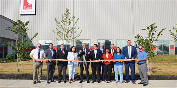 Scapa Healthcare Opens New Medical Device Manufacturing Facility in Knoxville, TN