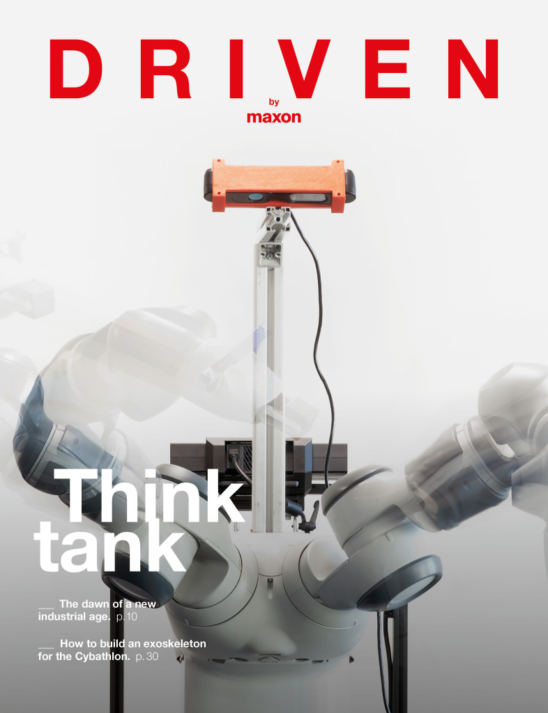 """driven"" explains the factory of the future"