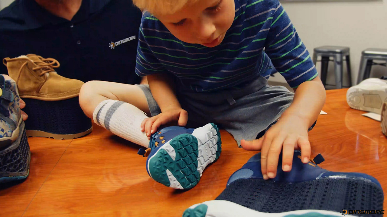 Dinsmore Inc.'s 3D Printing Services Help Fast Track Custom Orthotic for Child in Need