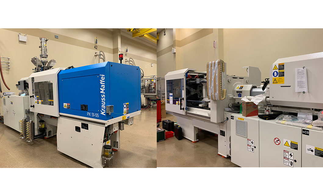 HTI Plastics Purchased Two Additional Injection Moldering Machines