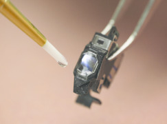 LED405Med: Biocompatible, Nanosilica Filled LED Curable Adhesive