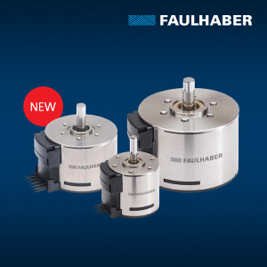 FAULHABER BXT SC - Flat Brushless Motor with Integrated Speed Controller