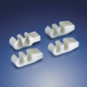Multi-Cavity Channel Clips with Guide Wire Slit from Qosina