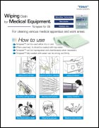 Toray Toraysee™ for CE • Wiping Cloth for Medical Equipment