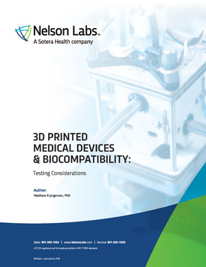 3D Printed Medical Devices and Biocompatibility