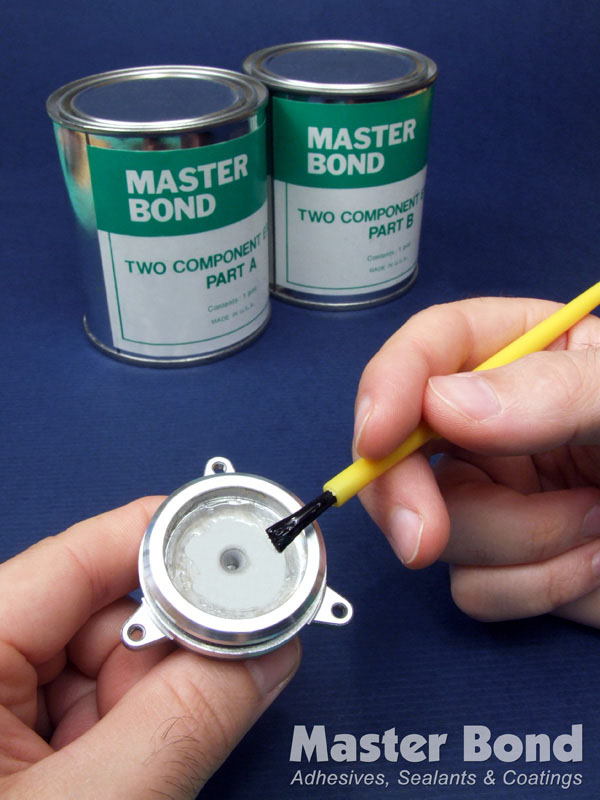 power coating adhesion and outgassing on