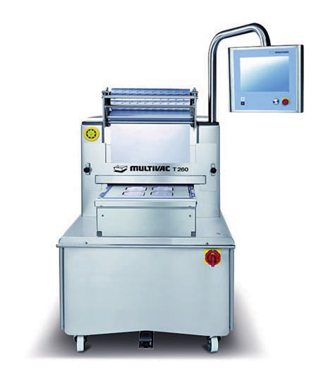 Multivac tray sealer