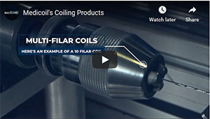 Medicoil's Coiling Products