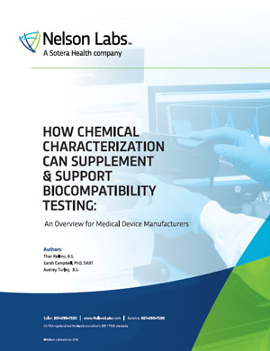 How Chemical Characterization Can Supplement & Support Biocompatibility Testing