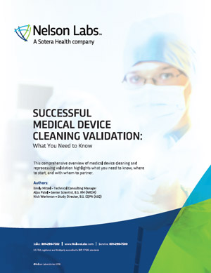 Successful Medical Device Cleaning Validations: What You Need to Know