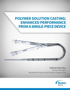 Polymer Solution Casting: Enhanced Performance from a Single-Piece Device