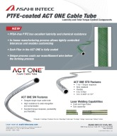 PTFE-coated ACT ONE Cable Tube
