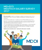 Medtech Salary Survey 2017