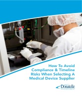 How To Avoid Compliance & Timeline Risks When Selecting A Medical Device Supplier