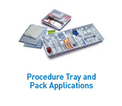 Procedure Tray and Pack Applications